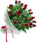 Kahramanmaraş çiçek mağazası , çiçekçi adresleri  11 adet kirmizi gül buketi sade ve hos sevenler