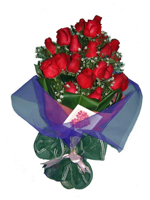 12 adet kirmizi gül buketi  Kahramanmaraş online çiçekçi , çiçek siparişi