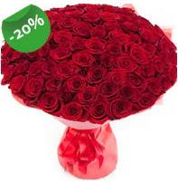 Özel mi Özel buket 101 adet kırmızı gül  Kahramanmaraş çiçek gönderme
