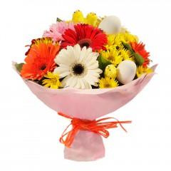 Karışık mevsim buketi Mevsimsel çiçek  Kahramanmaraş güvenli kaliteli hızlı çiçek