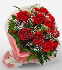 12 adet kırmızı güllerden kaliteli gül  Kahramanmaraş yurtiçi ve yurtdışı çiçek siparişi