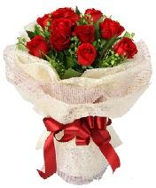 12 adet kırmızı gül buketi  Kahramanmaraş çiçek gönderme