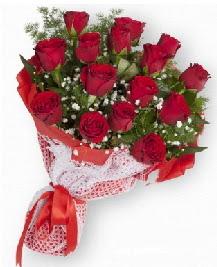 11 kırmızı gülden buket  Kahramanmaraş çiçekçi mağazası