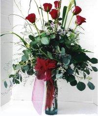 Kahramanmaraş çiçek servisi , çiçekçi adresleri  7 adet gül özel bir tanzim