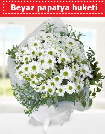 Beyaz Papatya Buketi  Kahramanmaraş çiçek yolla