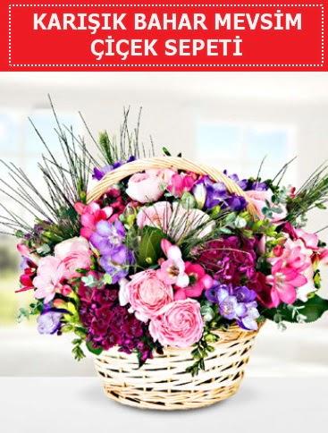 Karışık mevsim bahar çiçekleri  Kahramanmaraş anneler günü çiçek yolla