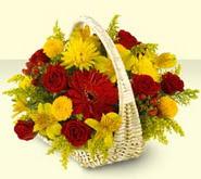 Kahramanmaraş çiçek yolla  sepette mevsim çiçekleri