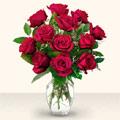 Kahramanmaraş online çiçek gönderme sipariş  10 adet gül cam yada mika vazo da