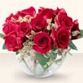 Kahramanmaraş çiçek satışı  mika yada cam içerisinde 10 gül - sevenler için ideal seçim -