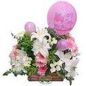 balon ve çiçeklerle tanzim  Kahramanmaraş çiçek mağazası , çiçekçi adresleri