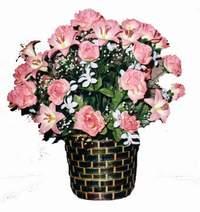 yapay karisik çiçek sepeti  Kahramanmaraş çiçek satışı