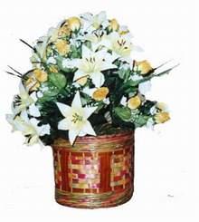 yapay karisik çiçek sepeti   Kahramanmaraş İnternetten çiçek siparişi