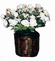 yapay karisik çiçek sepeti   Kahramanmaraş çiçek yolla , çiçek gönder , çiçekçi