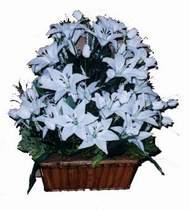 yapay karisik çiçek sepeti   Kahramanmaraş online çiçekçi , çiçek siparişi