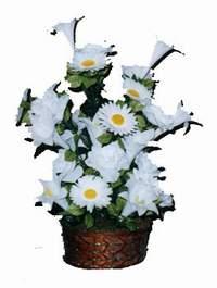 yapay karisik çiçek sepeti  Kahramanmaraş yurtiçi ve yurtdışı çiçek siparişi
