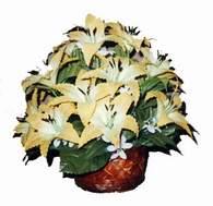 yapay karisik çiçek sepeti   Kahramanmaraş çiçek servisi , çiçekçi adresleri