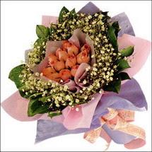 11  adet  gül ve   elyaflar   Kahramanmaraş çiçek online çiçek siparişi