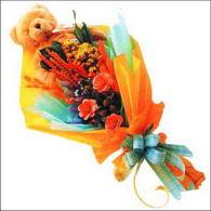 ayicik gül ve kir çiçekleri   Kahramanmaraş çiçek online çiçek siparişi