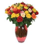 51 adet gül ve kaliteli vazo   Kahramanmaraş çiçek siparişi vermek