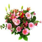 lilyum ve gerbera çiçekleri - çiçek seçimi -  Kahramanmaraş cicek , cicekci