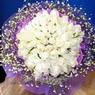 71 adet beyaz gül buketi   Kahramanmaraş 14 şubat sevgililer günü çiçek