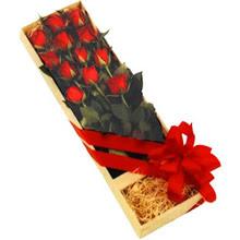 kutuda 12 adet kirmizi gül   Kahramanmaraş online çiçek gönderme sipariş