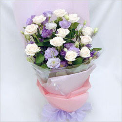 Kahramanmaraş çiçek mağazası , çiçekçi adresleri  BEYAZ GÜLLER VE KIR ÇIÇEKLERIS BUKETI