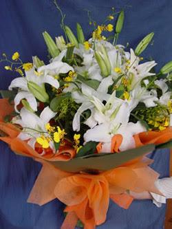 Kahramanmaraş çiçek mağazası , çiçekçi adresleri  5 ADET KAZABLANKA BUKETI KALITEDEN SASMAYANLARA