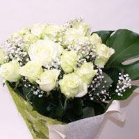 Kahramanmaraş hediye sevgilime hediye çiçek  11 adet sade beyaz gül buketi