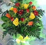 13 adet karisik gül buketi demeti   Kahramanmaraş çiçek gönderme sitemiz güvenlidir