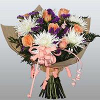 güller ve kir çiçekleri demeti   Kahramanmaraş kaliteli taze ve ucuz çiçekler