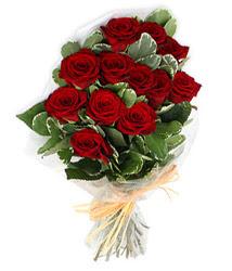 Kahramanmaraş çiçekçiler  9 lu kirmizi gül buketi.