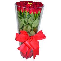 Kahramanmaraş çiçek satışı  12 adet kirmizi gül cam yada mika vazo tanzim