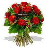 9 adet kirmizi gül ve kir çiçekleri  Kahramanmaraş çiçek mağazası , çiçekçi adresleri