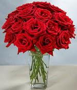 Kahramanmaraş çiçek servisi , çiçekçi adresleri  Sevdiklerinize özel ürün 12 adet cam içerisinde kirmizi gül  Kahramanmaraş hediye sevgilime hediye çiçek
