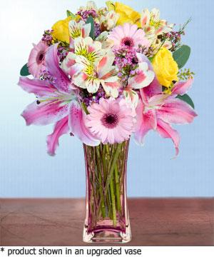 Anneme hediye karisik cam mevsim demeti  Kahramanmaraş güvenli kaliteli hızlı çiçek