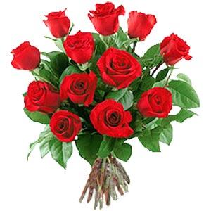 11 adet bakara kirmizi gül buketi  Kahramanmaraş çiçekçi mağazası