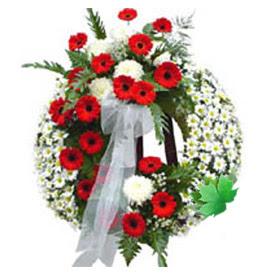 Cenaze çelengi cenaze çiçek modeli  Kahramanmaraş çiçek gönderme sitemiz güvenlidir