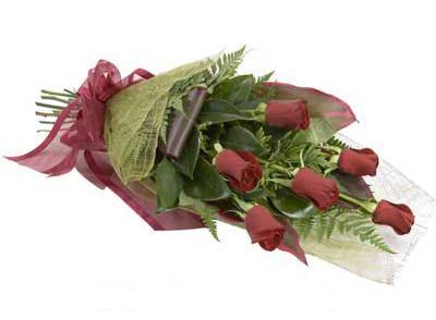 ucuz çiçek siparisi 6 adet kirmizi gül buket  Kahramanmaraş çiçek servisi , çiçekçi adresleri