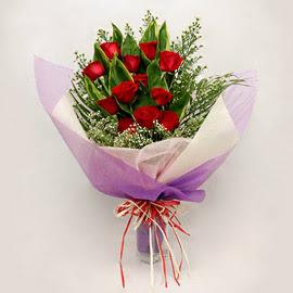 çiçekçi dükkanindan 11 adet gül buket  Kahramanmaraş çiçek online çiçek siparişi