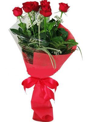 7 adet kirmizi gül buketi  Kahramanmaraş çiçekçiler