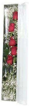 Kahramanmaraş çiçek servisi , çiçekçi adresleri   5 adet gülden kutu güller