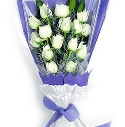 Kahramanmaraş çiçek online çiçek siparişi  11 adet beyaz gül buket modeli