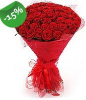 51 adet kırmızı gül buketi özel hissedenlere  Kahramanmaraş çiçek servisi , çiçekçi adresleri