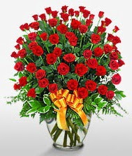 Görsel vazo içerisinde 101 adet gül  Kahramanmaraş çiçek yolla , çiçek gönder , çiçekçi