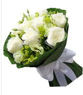 9 adet beyaz gül buketi  Kahramanmaraş çiçek servisi , çiçekçi adresleri