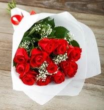 9 kırmızı gülden buket çiçeği  Kahramanmaraş cicek , cicekci