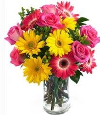 Vazoda Karışık mevsim çiçeği  Kahramanmaraş çiçek online çiçek siparişi