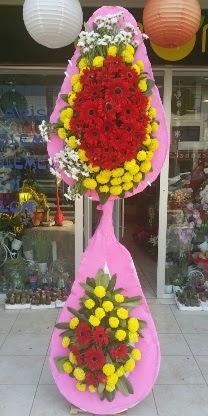 Çift katlı düğün nikah açılış çiçek modeli  Kahramanmaraş kaliteli taze ve ucuz çiçekler