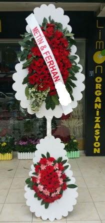 Çift katlı düğün nikah çiçeği modeli  Kahramanmaraş çiçek servisi , çiçekçi adresleri